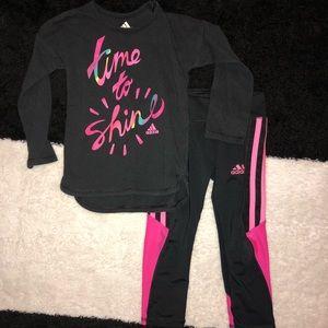 Free shipping on 3+ • 2T Adidas matching set